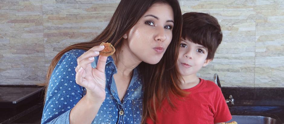 Biscoitos Amanteigados - Receita Kids