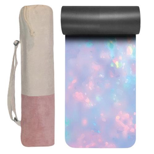 Glow yoga mat & Peace yoga bag