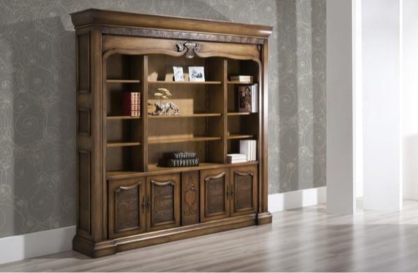 Não há nada capaz de proporcionar todo o charme, funcionalidade, qualidade, bom gosto e sofisticação ao ambiente de trabalho do que uma bela estante de madeira.