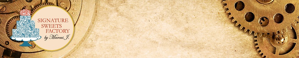 Signature Sweets Factory banner