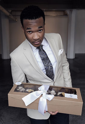 Marcus J of Signature Sweets Factory