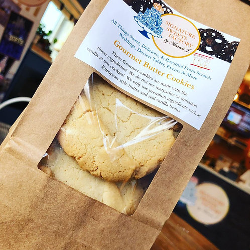 Gourmet Chicago Style Butter Cookies (Dozen)