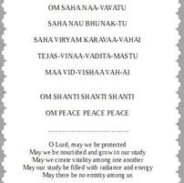 Teacher Student Prayer