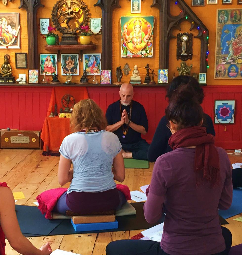 Workshop at Yoga Studio Ely