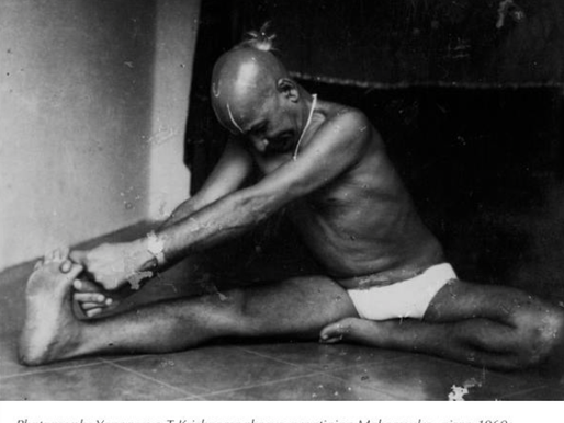 T. Krishnamacharya's General Practice & Life Saving Sessions With Mark
