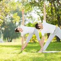 Sommer Pilates in Aarau draussen