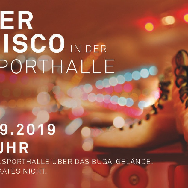 Publikumslauf und Roller Disco