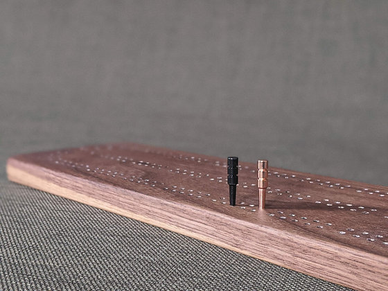 Two-Track Cribbage Board