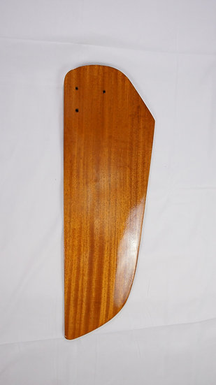 Sunfish Rudder - New Style - Mahogany