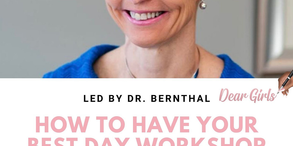How To Have Your Best Day Workshop