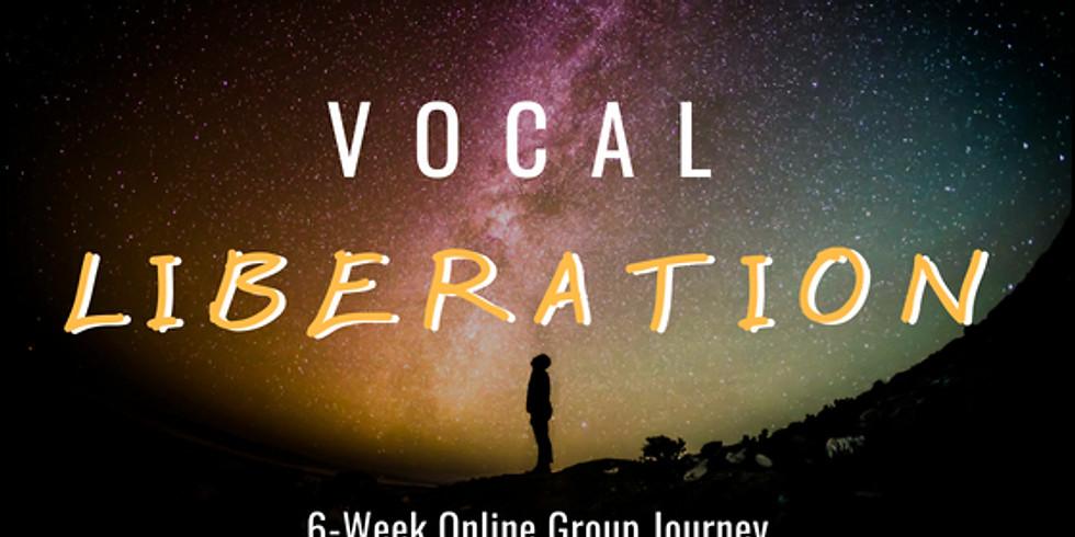 6-Week Vocal Liberation Journey