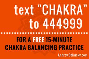 A Free 15-Minute Chakra Balancing Practice