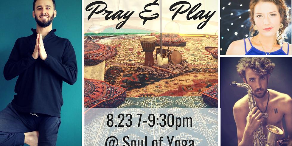 Pray 'n Play: Yoga and Music Meditation
