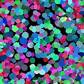 Manchas pastel transparente