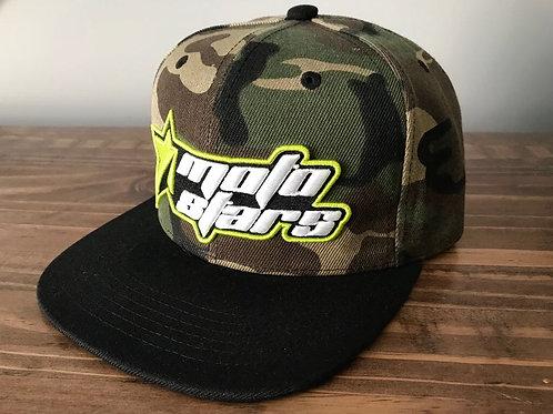 MotoStars Snapback Hat- Camo