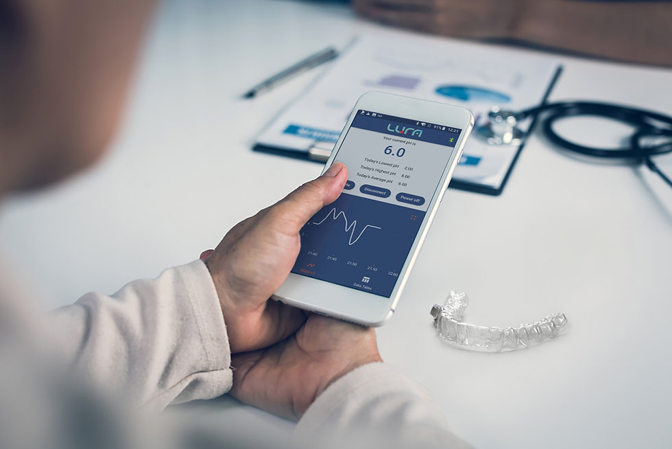 Lura Health | The world's first wearable sensor for salivary diagnostics