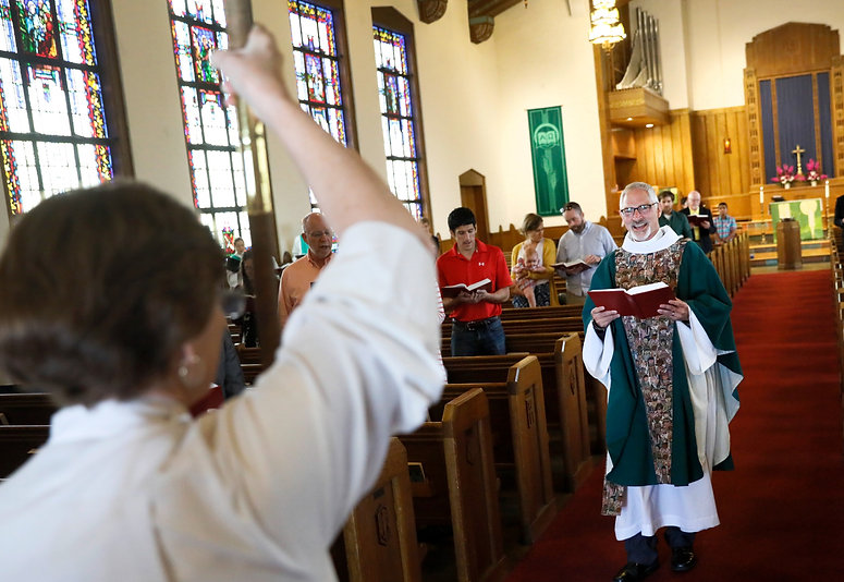 Lutheran Church of the Reformation is a member of the Evangelical Lutheran Church in America (ELCA). And as a Reconciling in Christ congregation since 1987, we welcome lesbian, gay, bisexual, transgender, and queer+ Christians and their families.