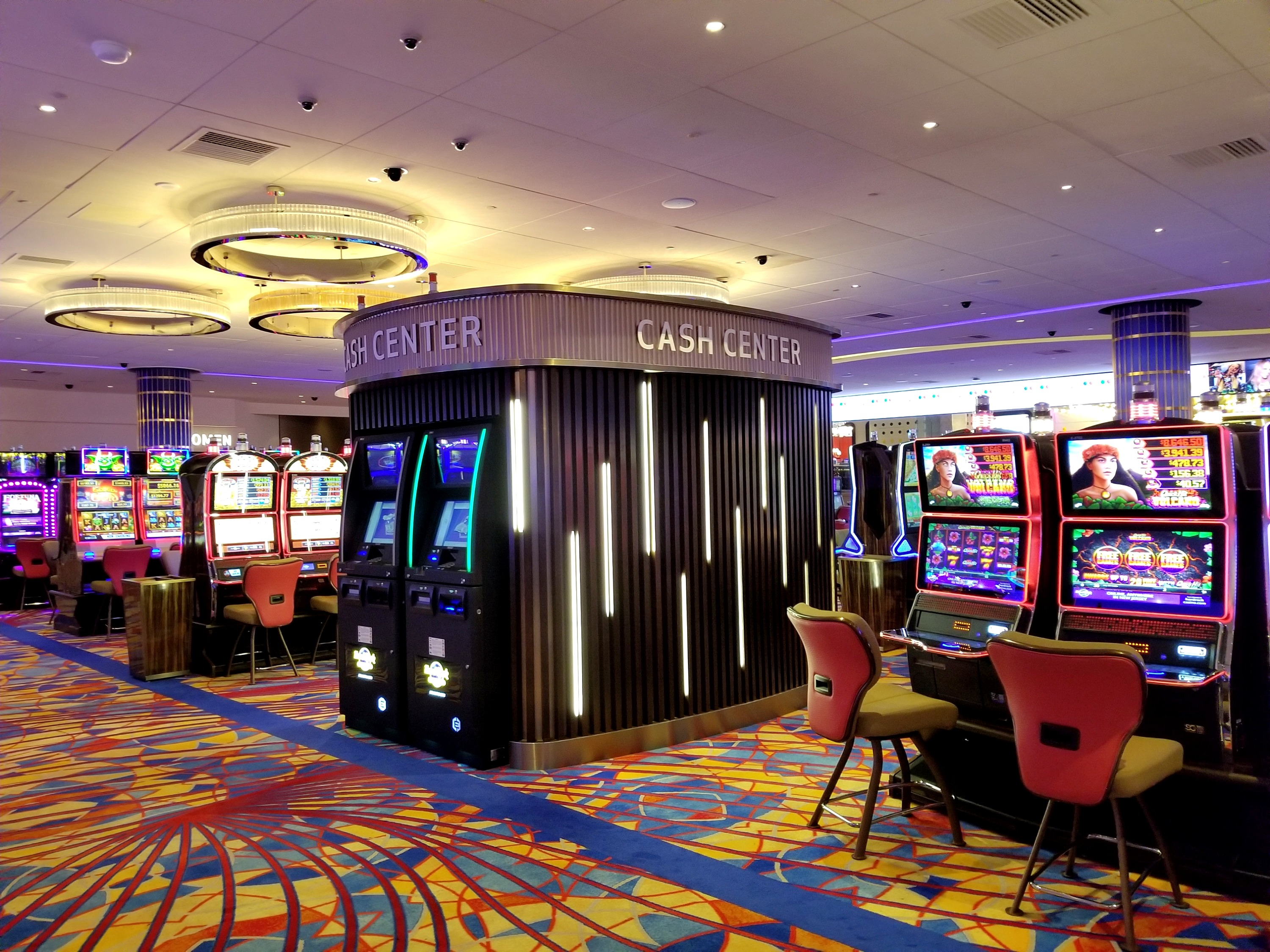 Designed and manufactured Cash Center Kiosk - Hard Rock Atlantic City