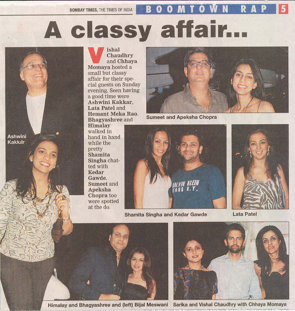 PRPrincess Yatch (Bombay Times)