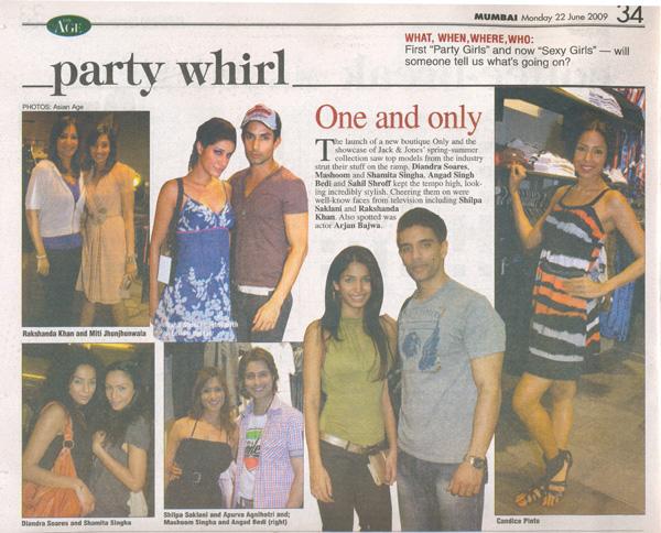 22 June 2009 The Mumbai Age Pg 34