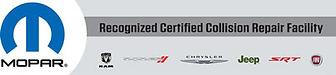 Mopar-certified auto body shop