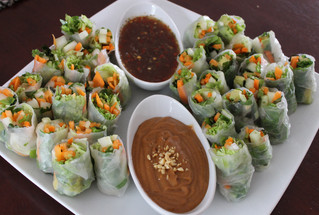 Workplace Potluck for Lunch: Vietnamese Spring Rolls