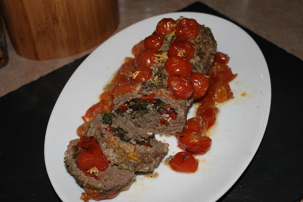 Greek Infused Meatloaf Sliced.JPG