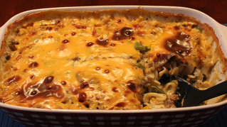 Beef, Cheese and Noodle Casserole - The Epitome of Comfort Food