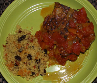 Cooking With Healing Spices: Moroccan Pork Chops With Couscous