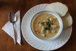 Newfoundland Seafood Chowder...The Epitome of Northern Atlantic Cuisine!