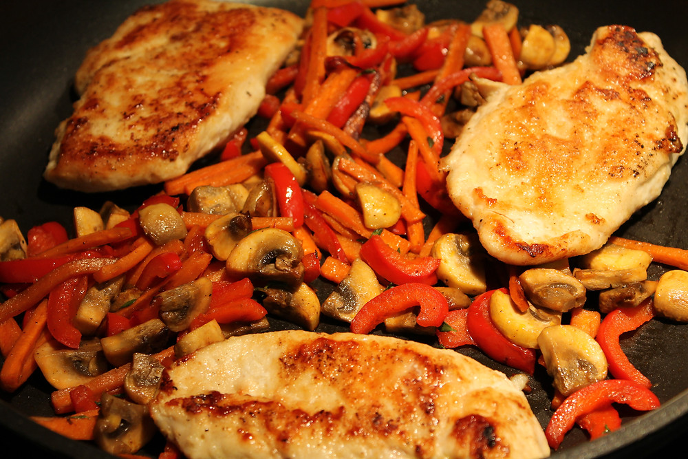 veg and chicken warming.JPG