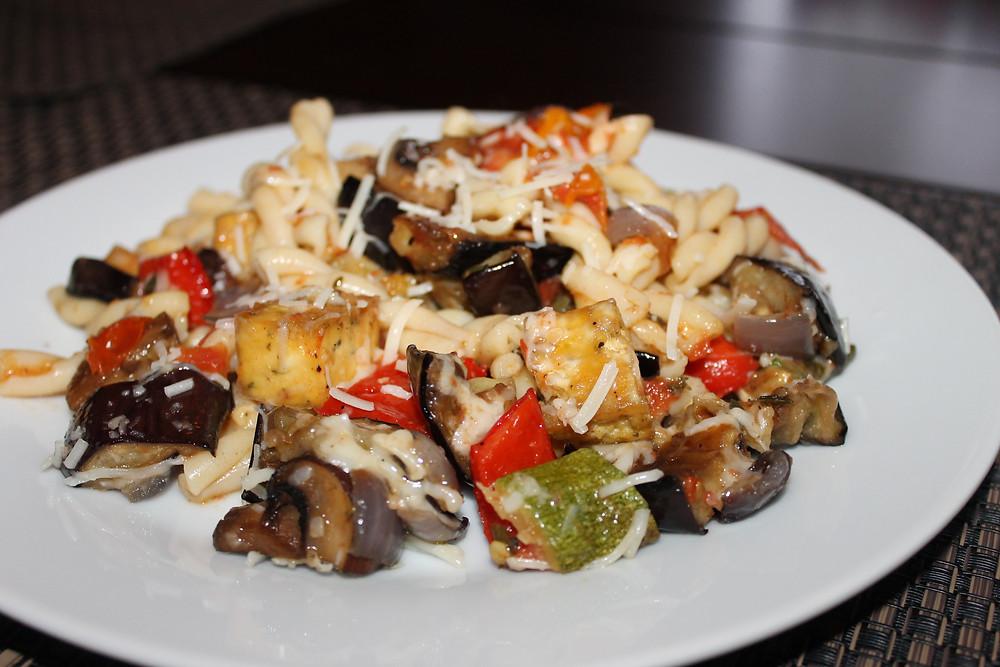 Roasted Veg Ratatouille with Tofu Plate.JPG