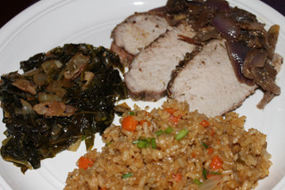 Southin' Your Mouth With Louisiana Style Roasted Pork Loin
