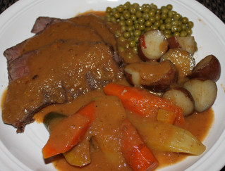 Hearty and Healthied-Up Perfect Pot Roast!