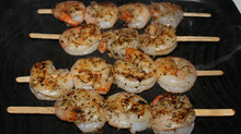 Uncomplicated Date Night Greek Grilled Shrimp Skewers