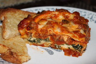 Channelling My Inner Popeye With Lasagna Florentine! TOOT TOOT!
