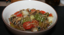 I Came, I Saw, I Stir-Fried: Beef Stir-Fry with Vermicelli
