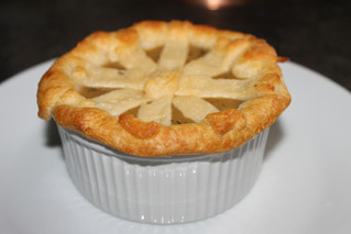 Giving Comfort Food A French Twist: Individual Parisienne Chicken Pot Pies!