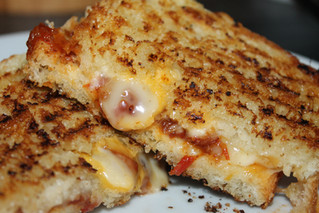 Grown-Up Grilled Cheese!