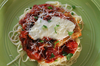 Topsy-Turvy Thursday: Quick and Easy Chicken Parmesan