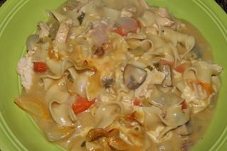 Robbie Burns, Haggis and Chicken Noodle Casserole