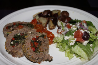 Mixing It Up With Mediterranean Stuffed Meatloaf!