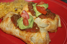Baked Chicken Chimichangas...Bringing Some Heat to the 47th Parallel!
