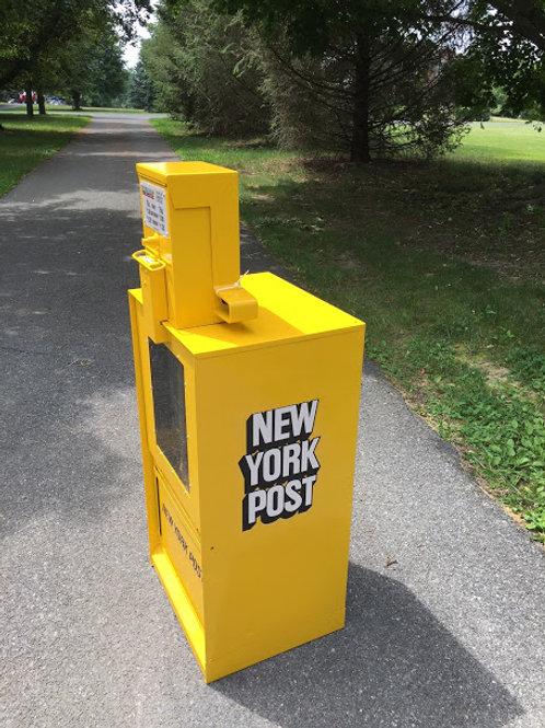 New York Post Newspaper Box