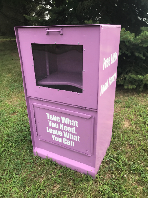 Custom Newspaper Box (With Your Copy in Three (3) locations
