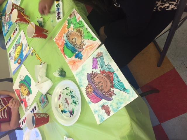 Watercolor Scarecrows 4