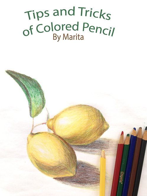 VIRTUAL COLORED PENCIL CLASSES FOR AGES 12-15  FEBRUARY 23RD
