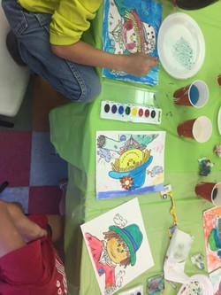 Watercolor Scarecrows 6