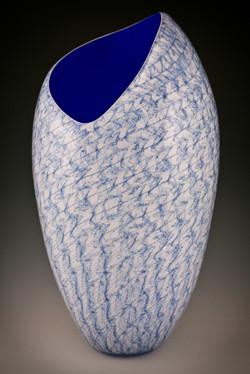 Blue Merletto no.4