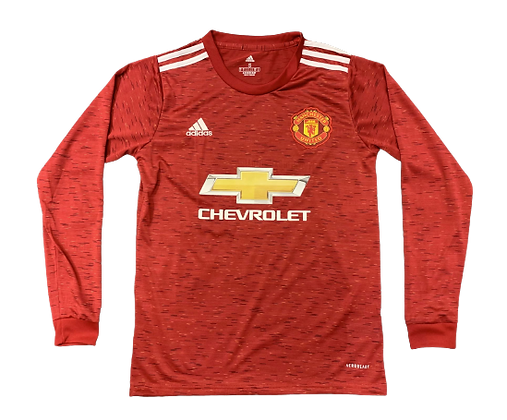 Manchester United Adidas Home Long Sleeve Shirt 2020/21